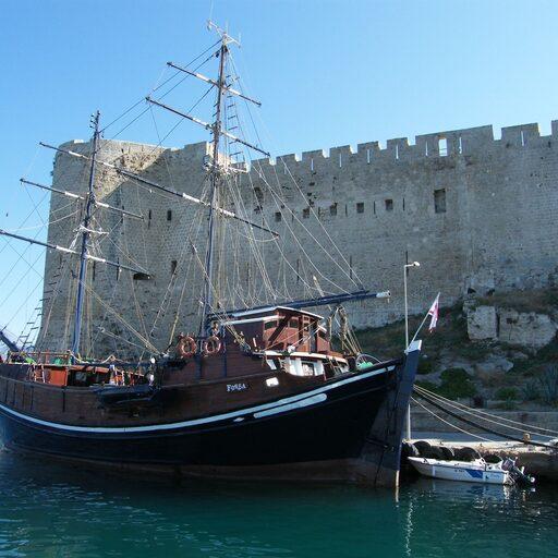 Северный Кипр, непризнанная страна ТРСК. Кирения.