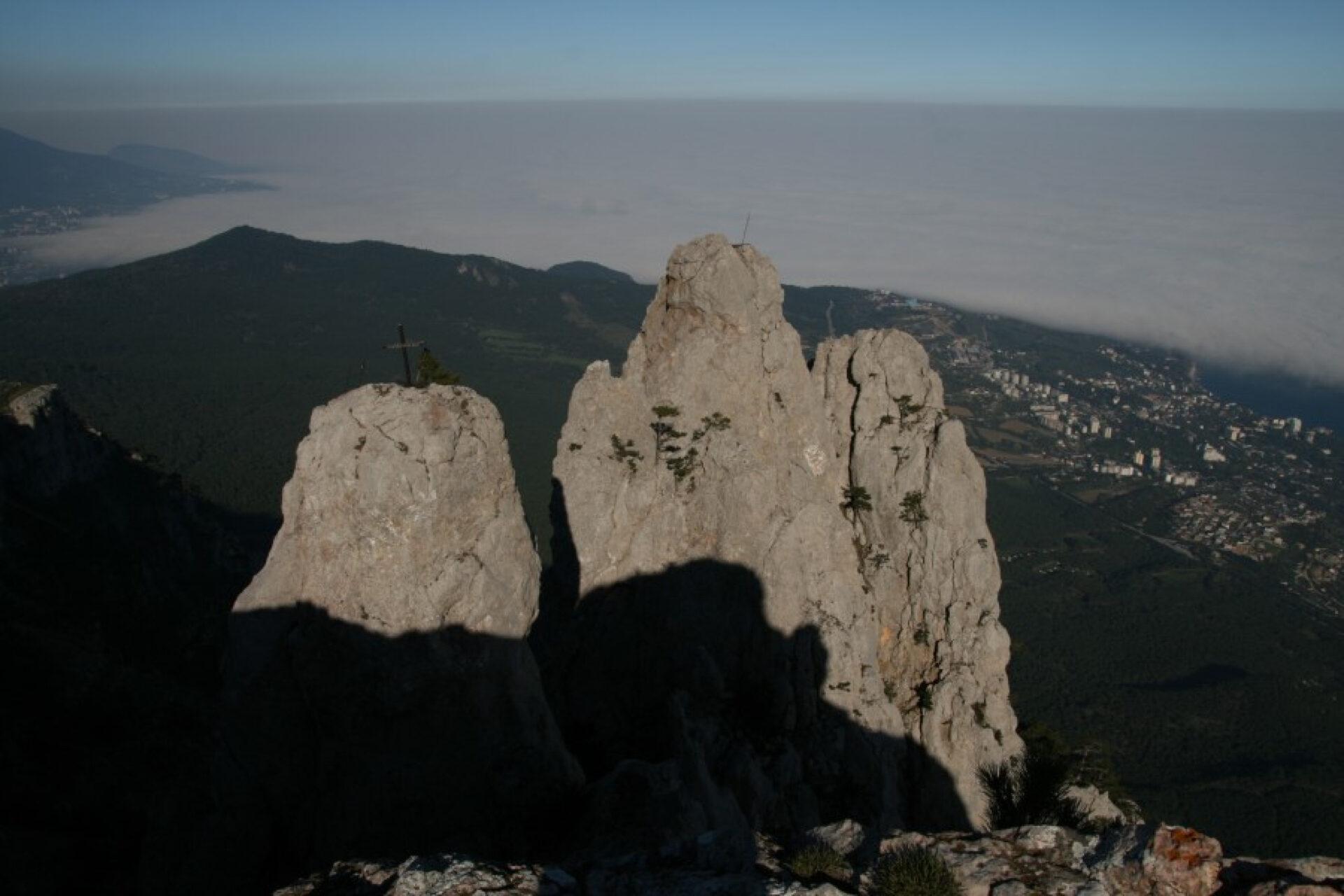 Прогулка нагору Ай-Петри близ Ялты