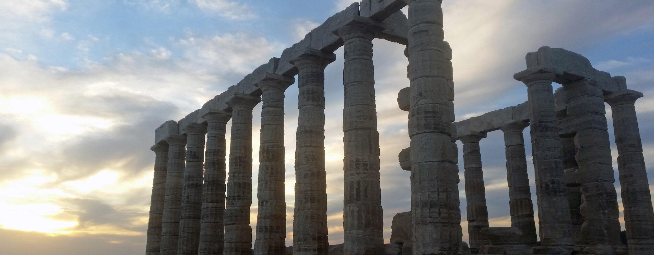 Храм Посейдона намысе Сунион