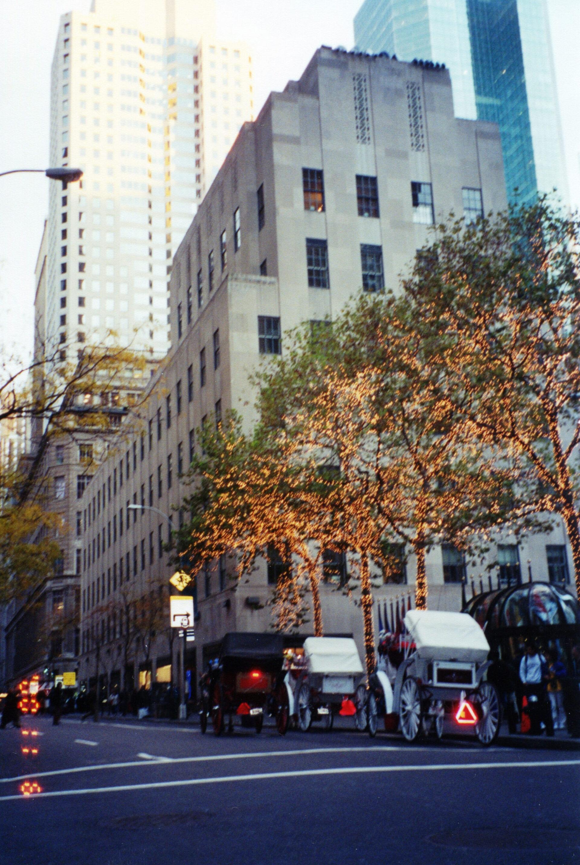 Нью-Йорк дотерракта, сбашнями WTC