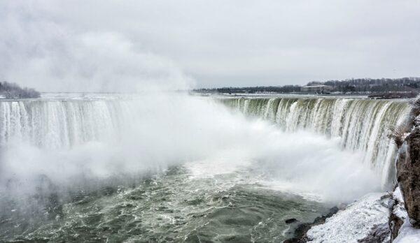 Ниагарский водопад. Мёртвый сезон.