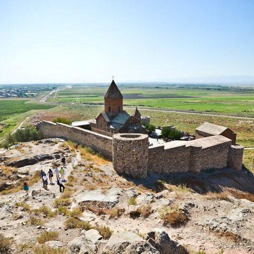 Армения. Монастыри Хор Вирап и Нораванк