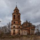 Заброшенная церковь вселе Крутицы