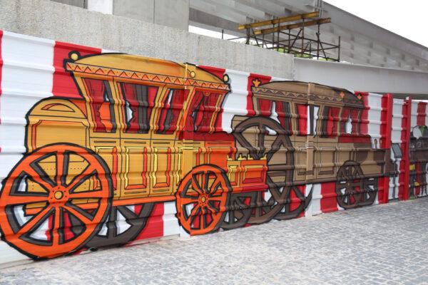 Португальское граффити.