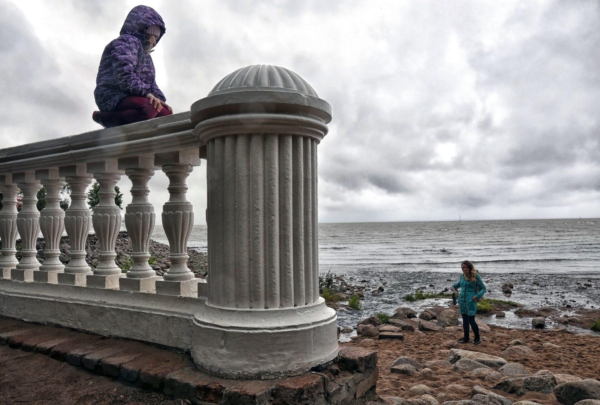 Финский залив иКрепость Карела