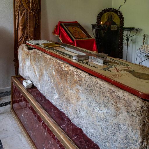 Абхазия. Каманы. Монастырь святителя Иоанна Златоустого