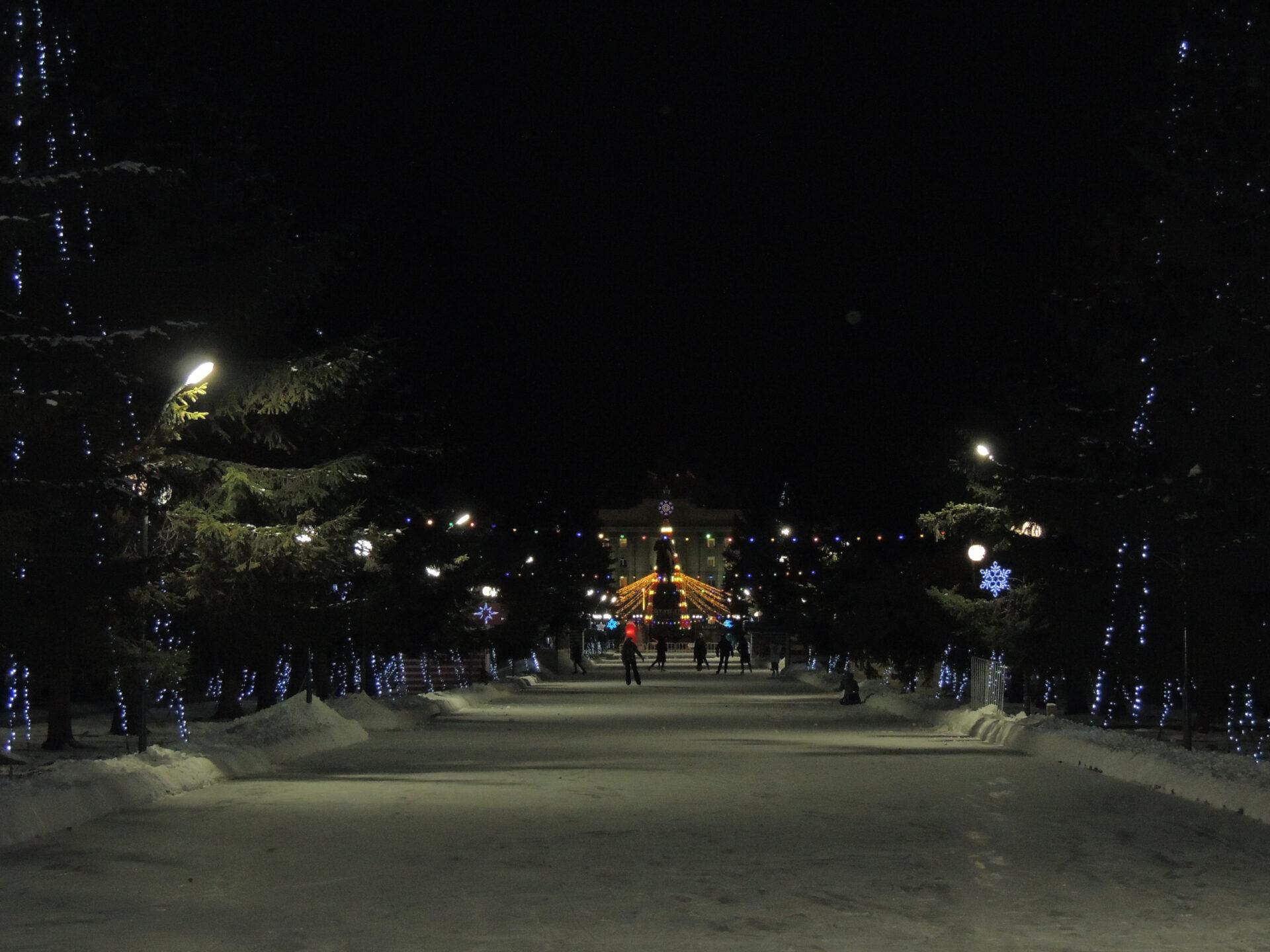 Новогоднее настроение вКрасноярске. Часть 3