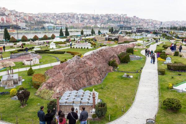 Стамбул. Музей «Турция вминиатюре»
