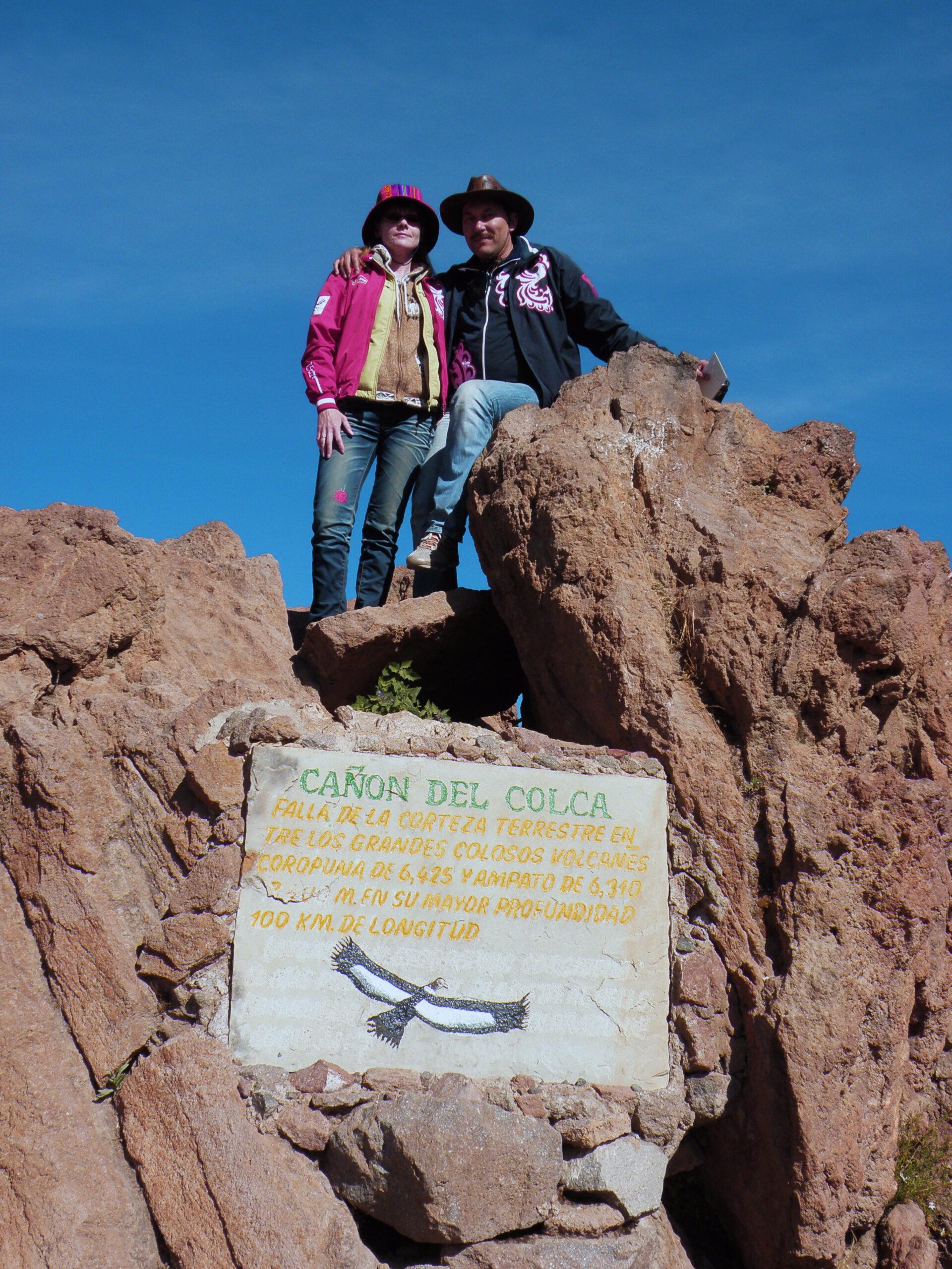 Перу: Каньон Колка иещё одно прекрасное место.