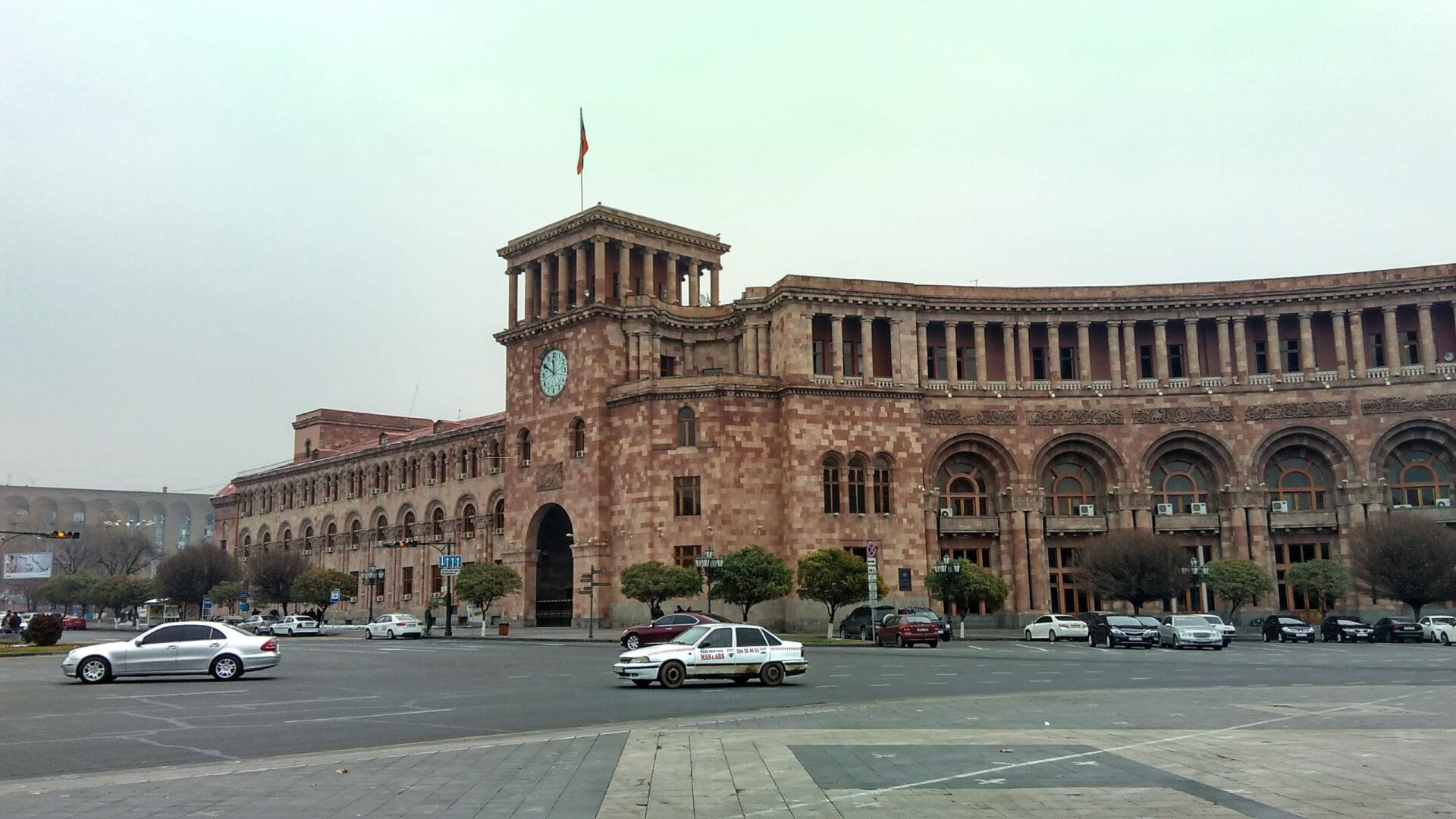 Кавказтур. Часть 6. Армения. Ереван.