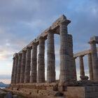 Греция. Мыс Сунион ихрам Посейдона