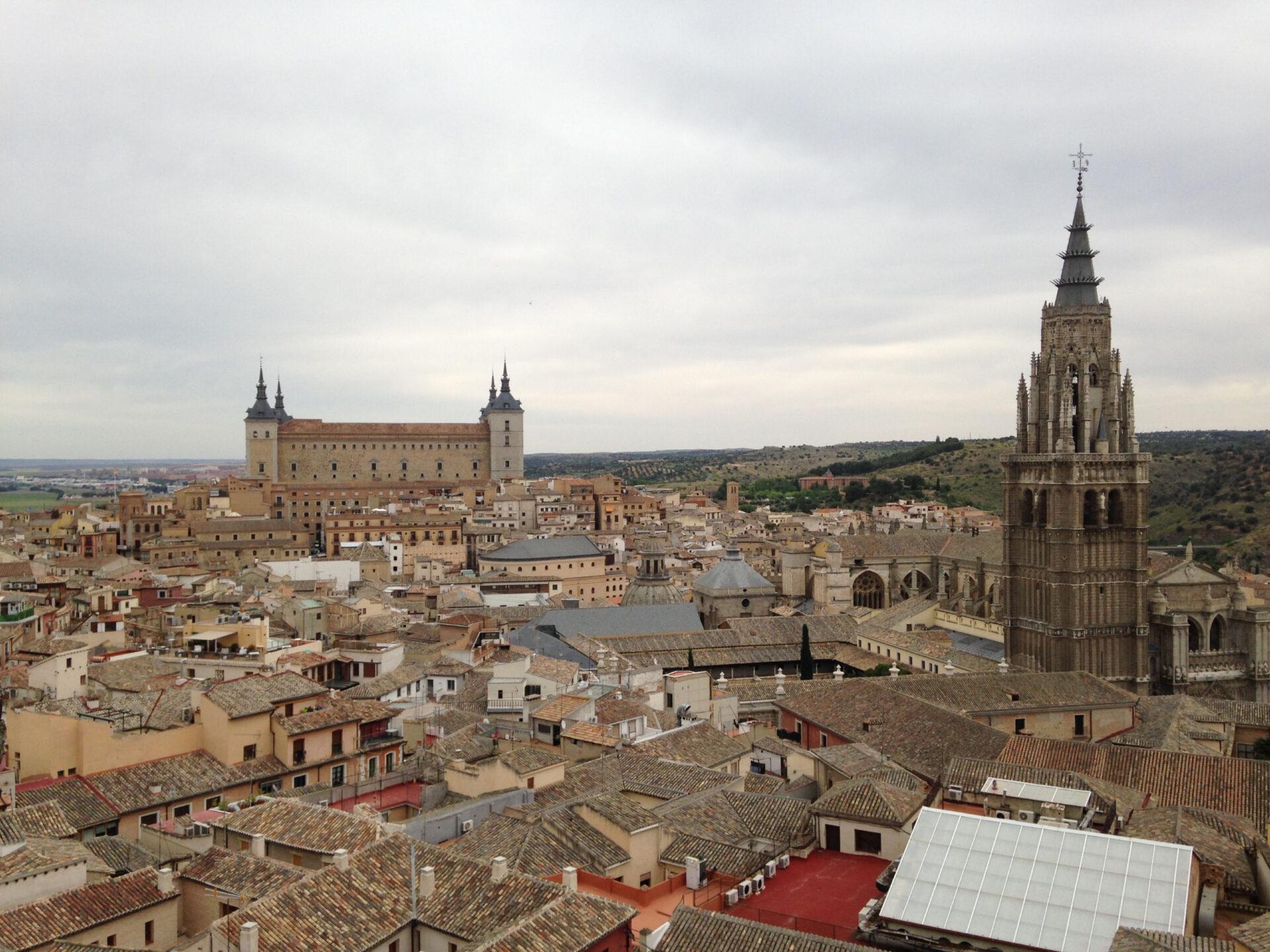 Толедо иСарагоса.