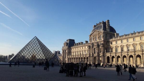 Солнечный Париж.