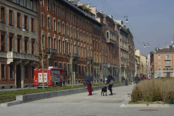 Милан: один день ипара осколков