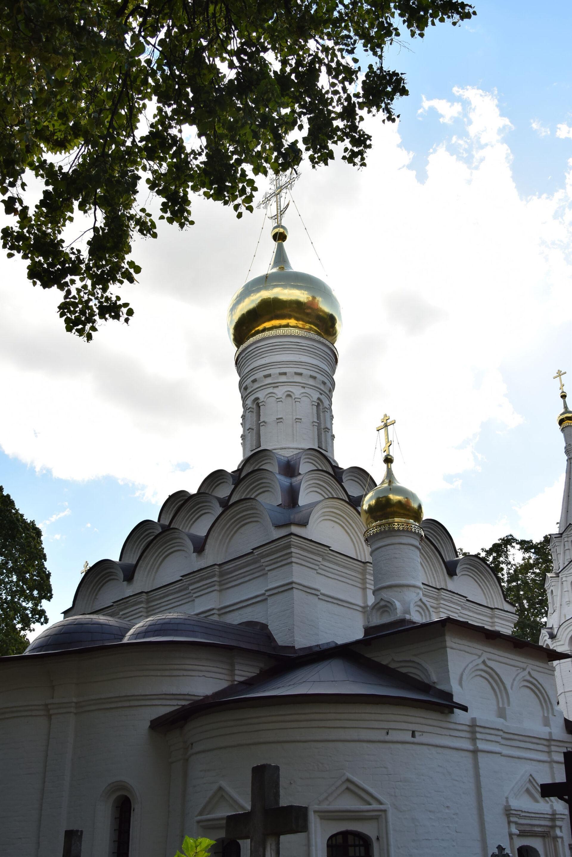 Донской монастырь. Часть1. Некрополь ихрамы.