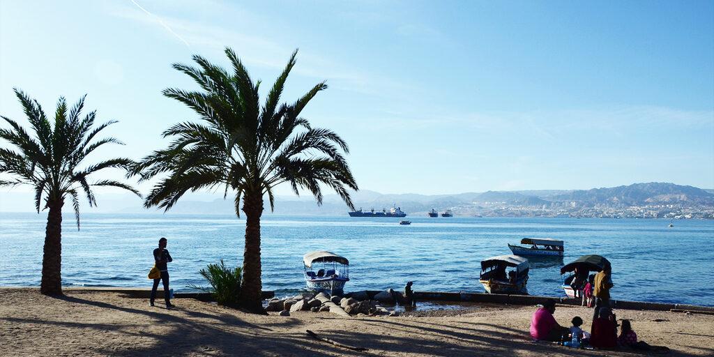 Немного об Акабе: на берегах Красного моря