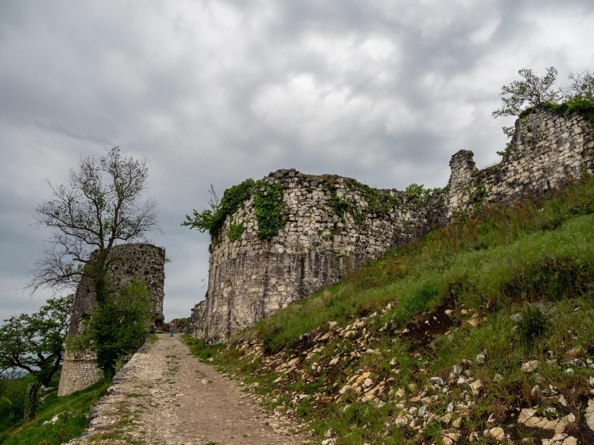 Абхазия. Анакопийская крепость. Новый Афон