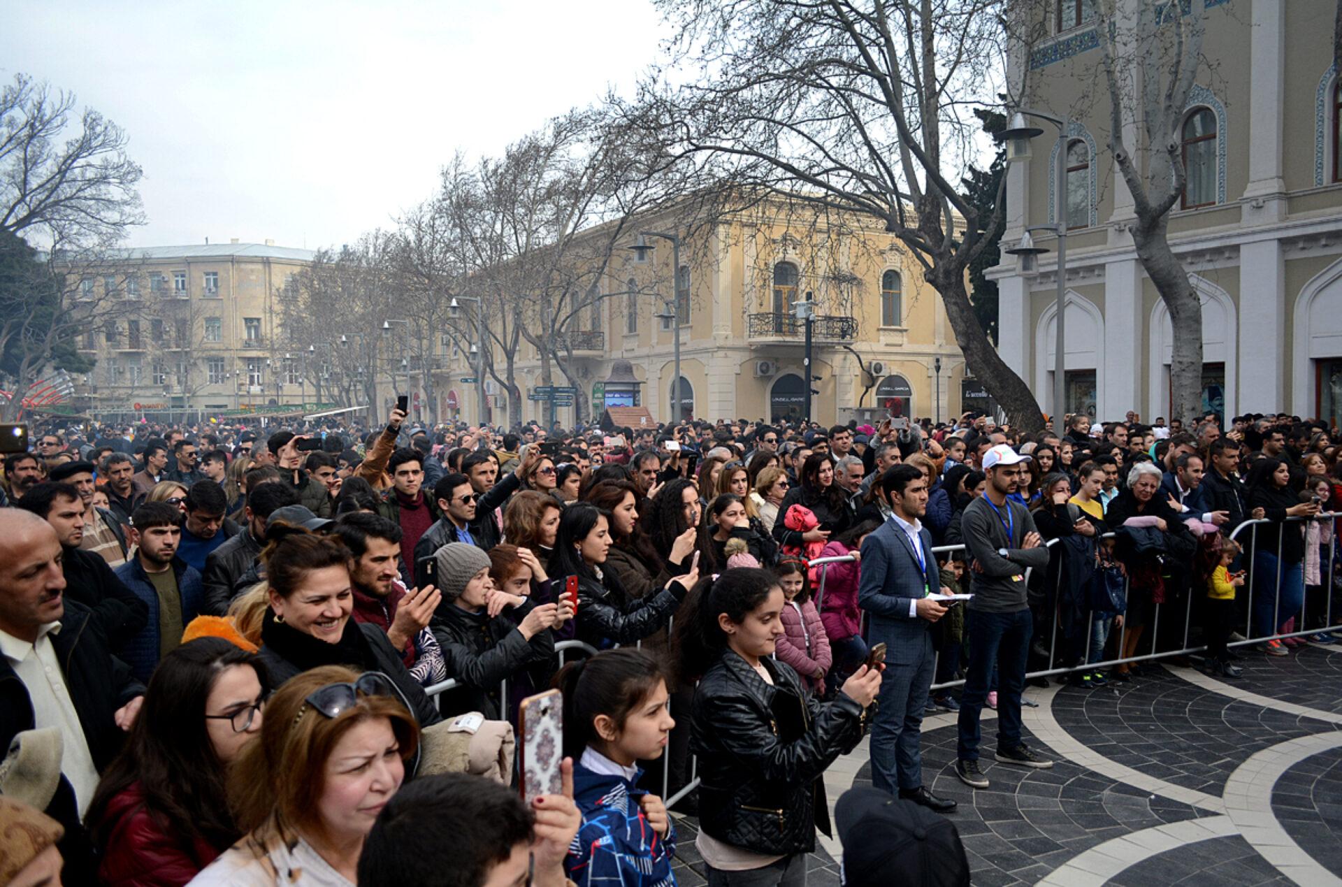 Баку отмечает Новруз
