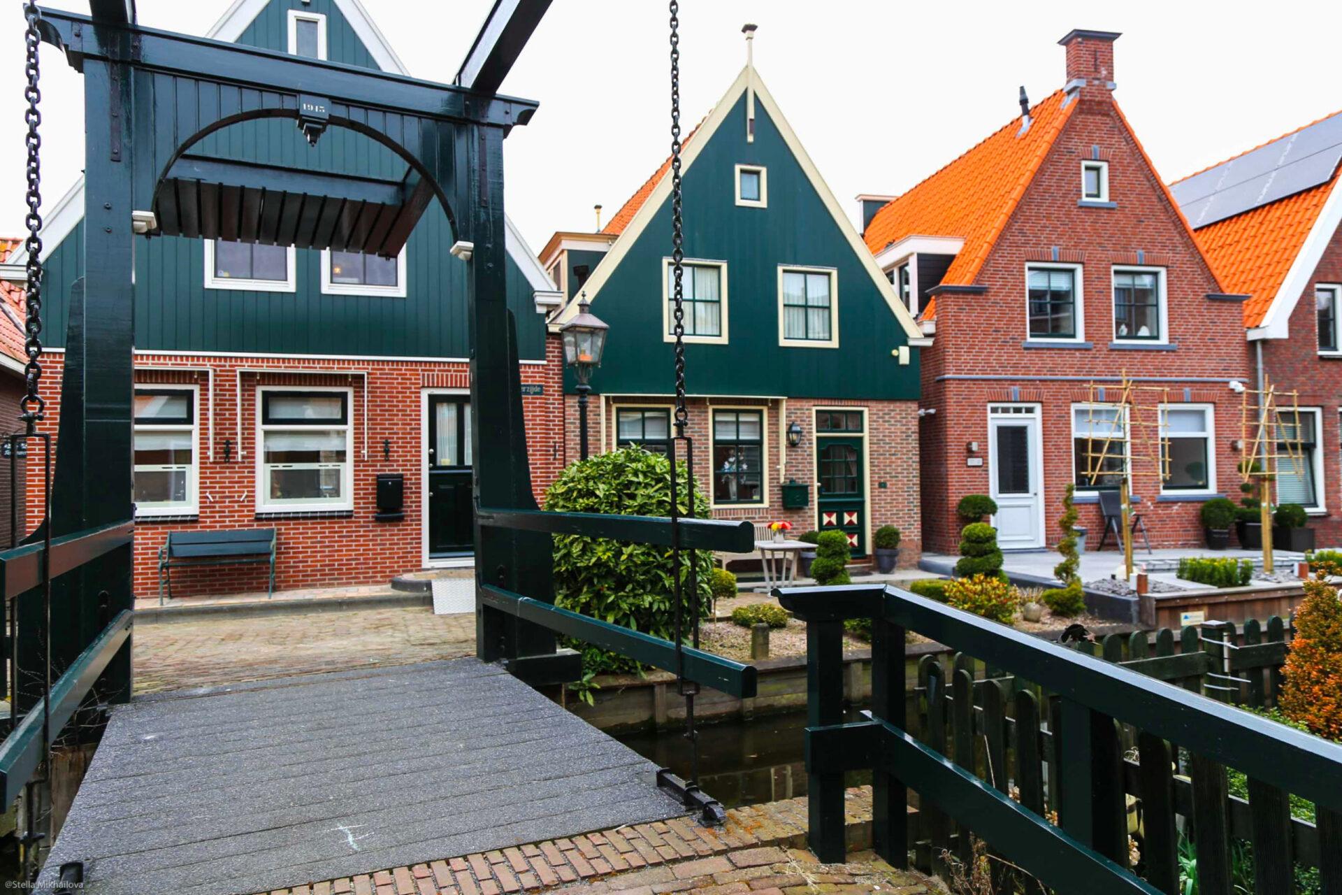Уютный уголок Нидерландов. Деревни Волендам иЭдам.