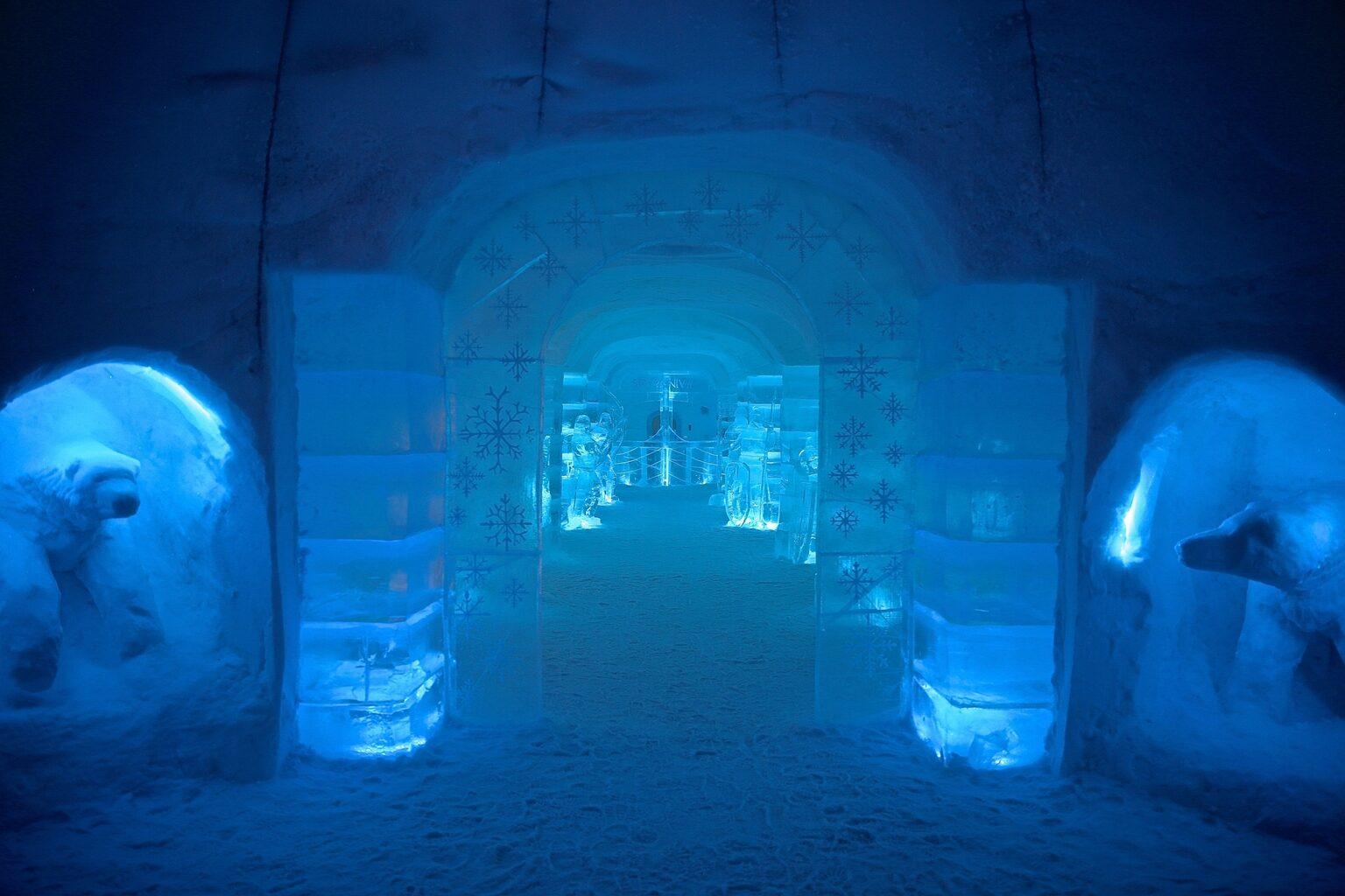 Ледяной отель Sorrisniva Igloo или ночь в сугробе!