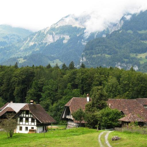 Увидеть всю деревенскую Швейцарию за один день