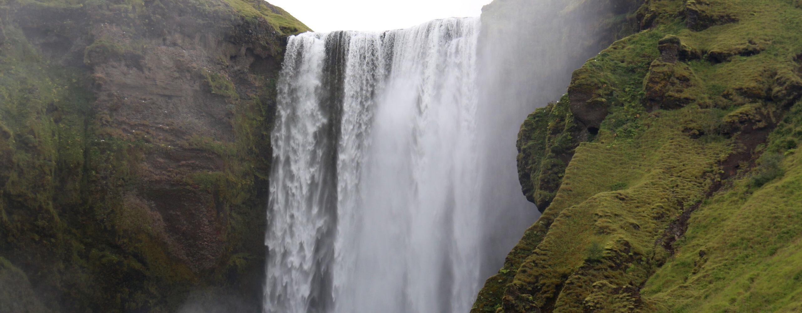 Водопады Скоугафосс иСельяландсфосс.