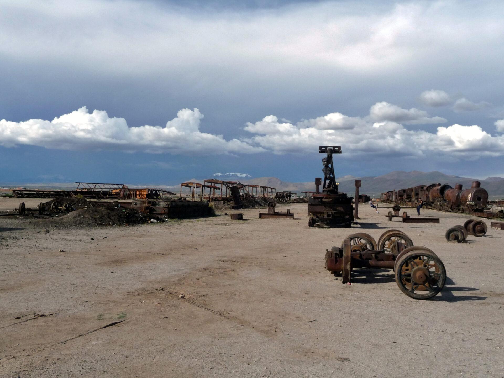 Последнее пристанище. Кладбище паровозов.