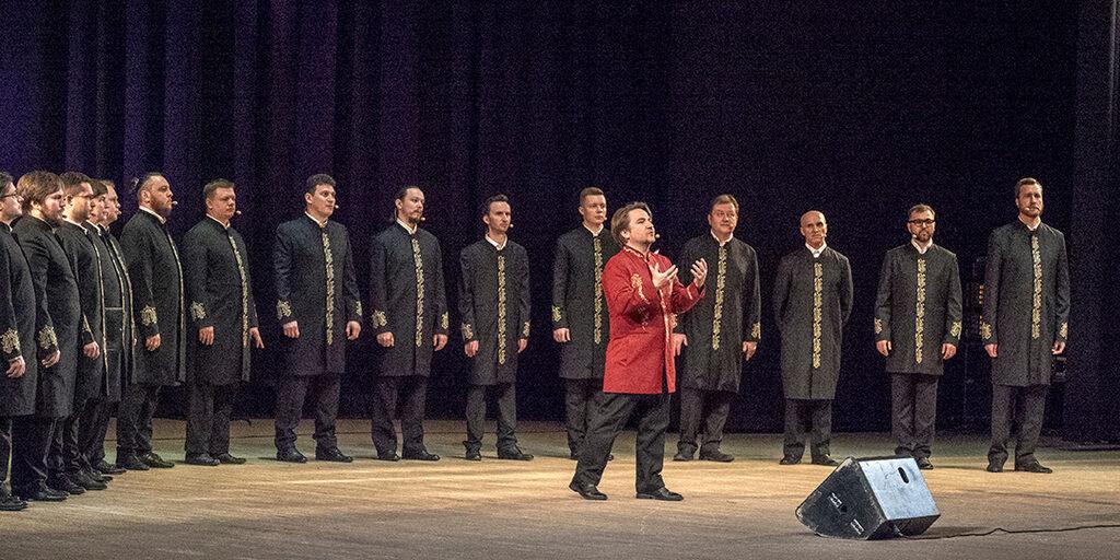 Хор острова Валаам (концерт в Храме на крови в Екатеринбурге).