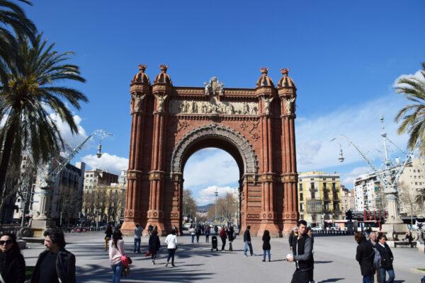 Испания. Барселона. День первый.