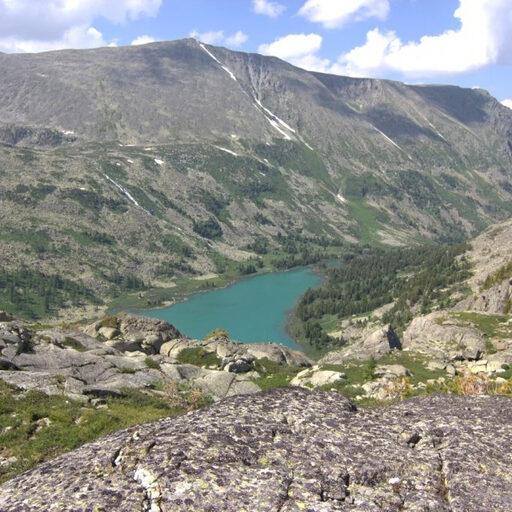 Озёра выше озера Крепкое на Алтае