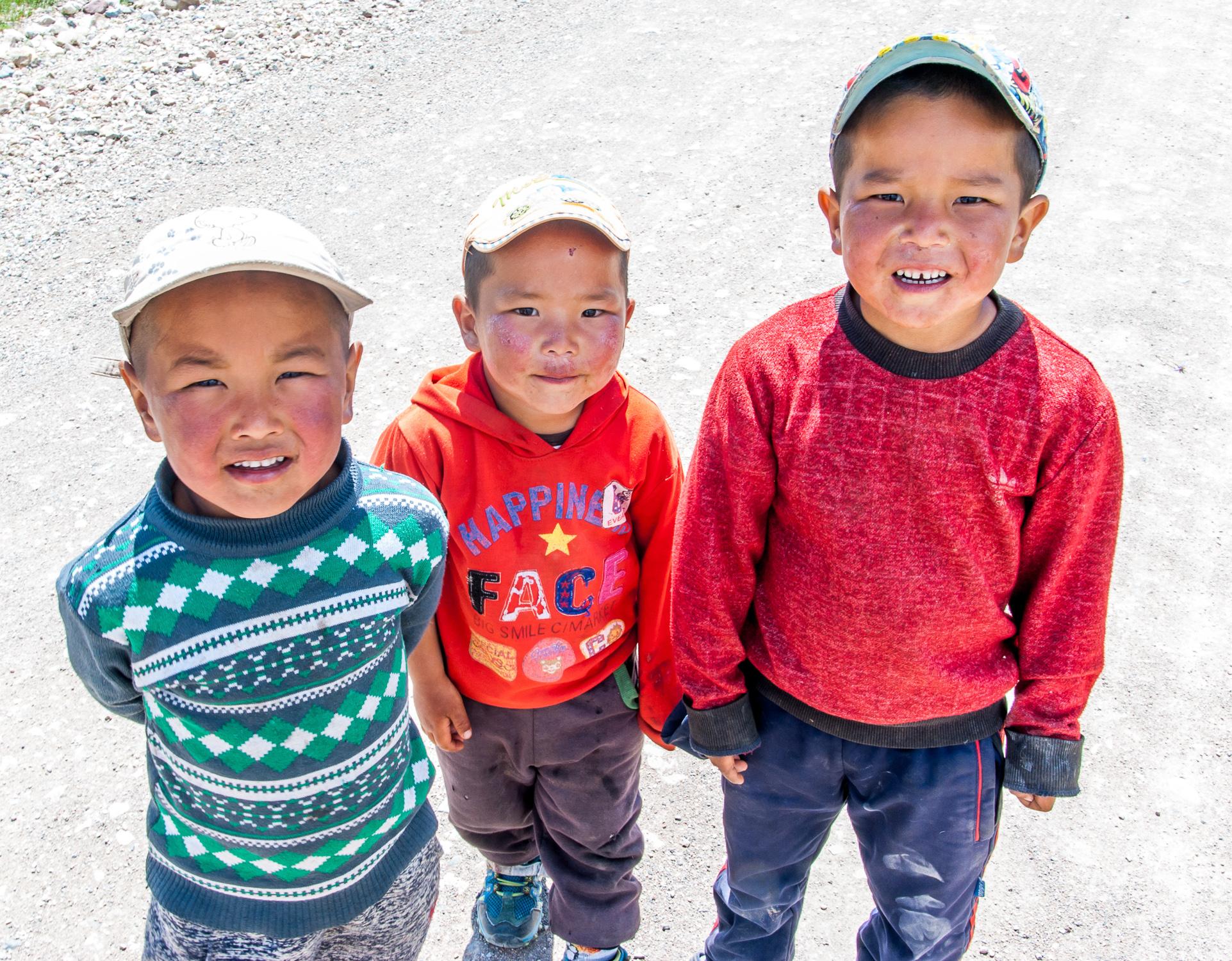 Дети кочевников