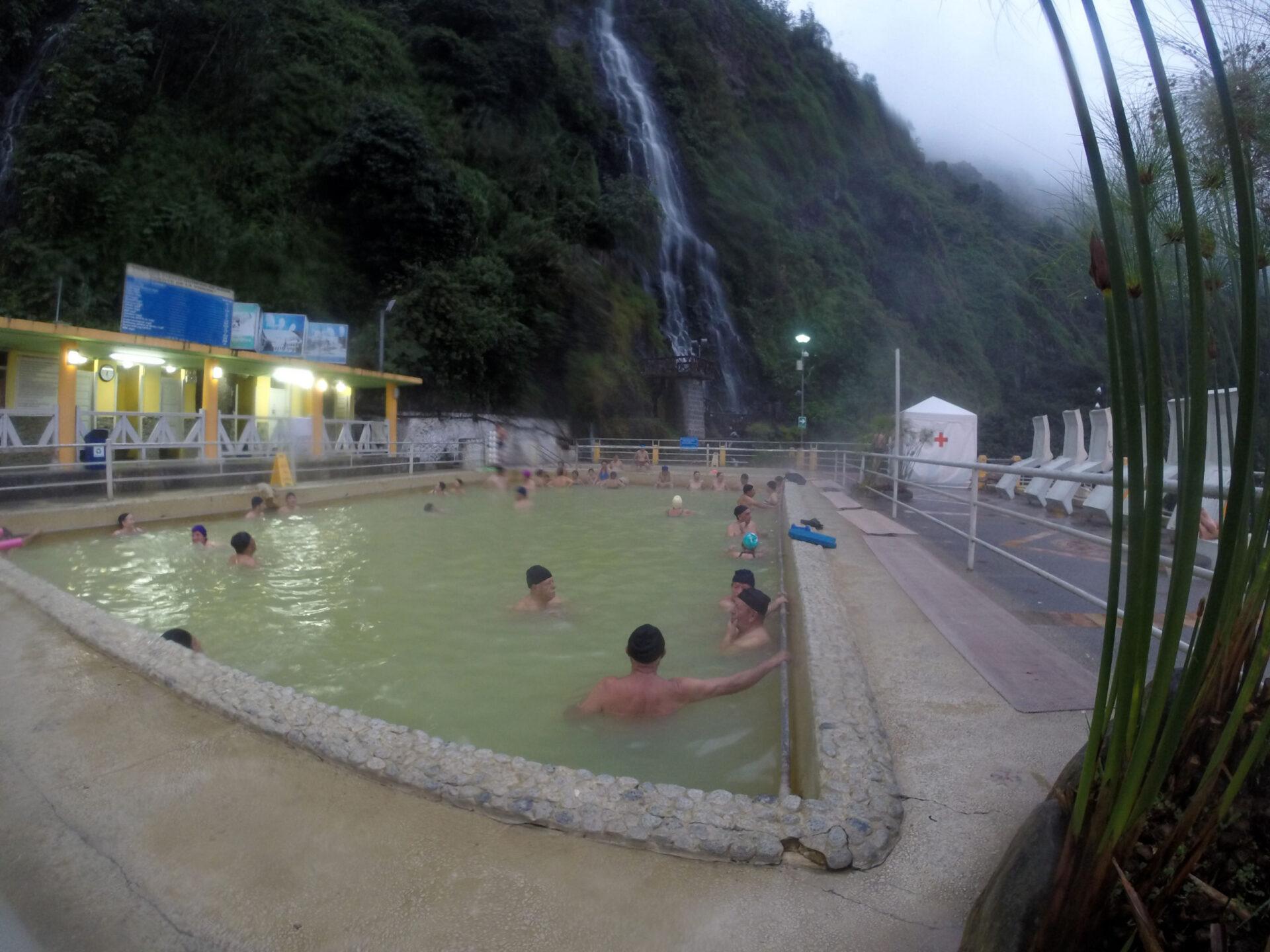 Баньос деАгуа Санта. Эквадор