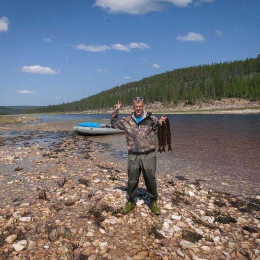 Якутия, вниз по Буотаме-реке. Волшебные ручьи