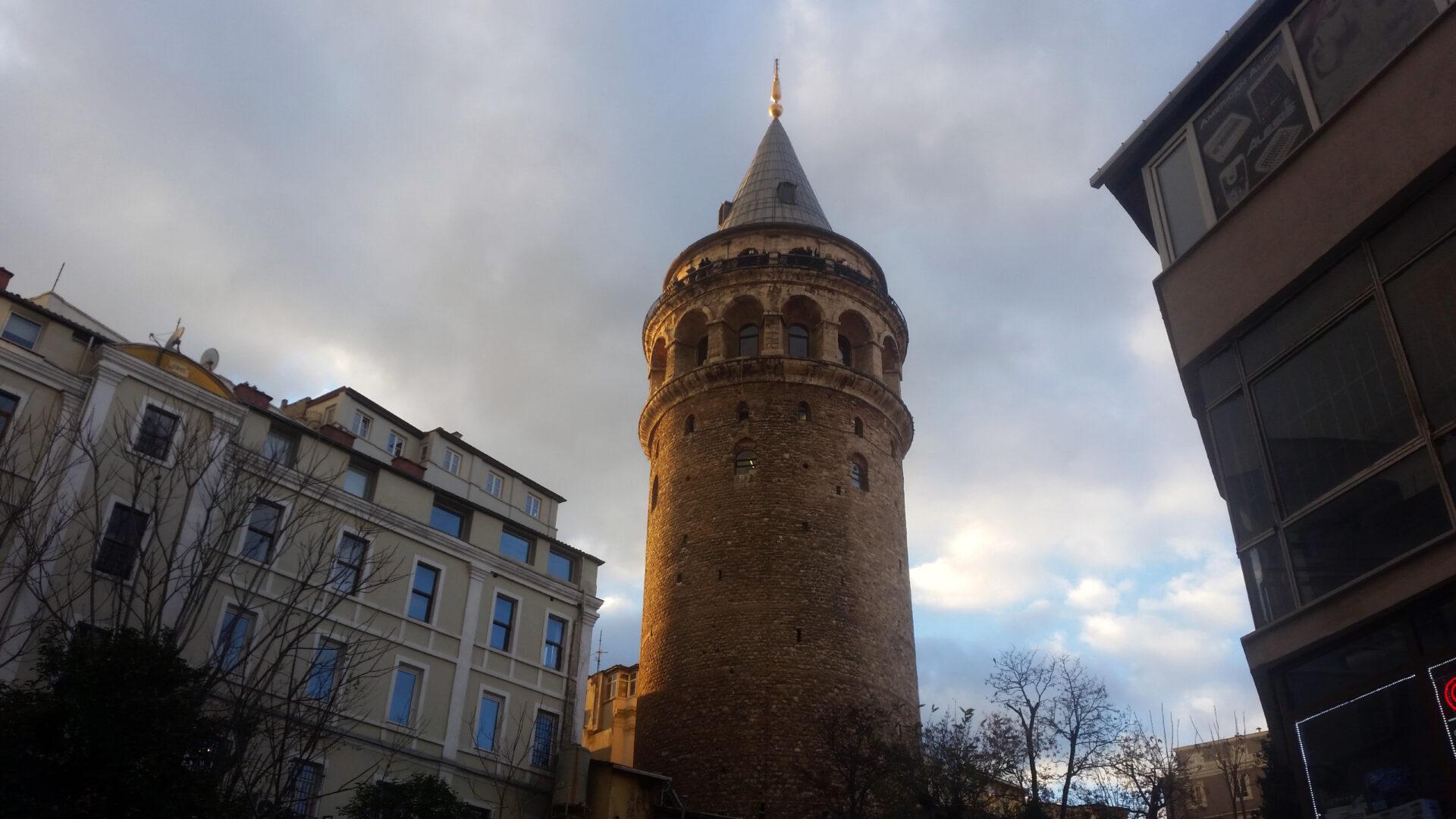 Два солнечных дня взимнем Стамбуле