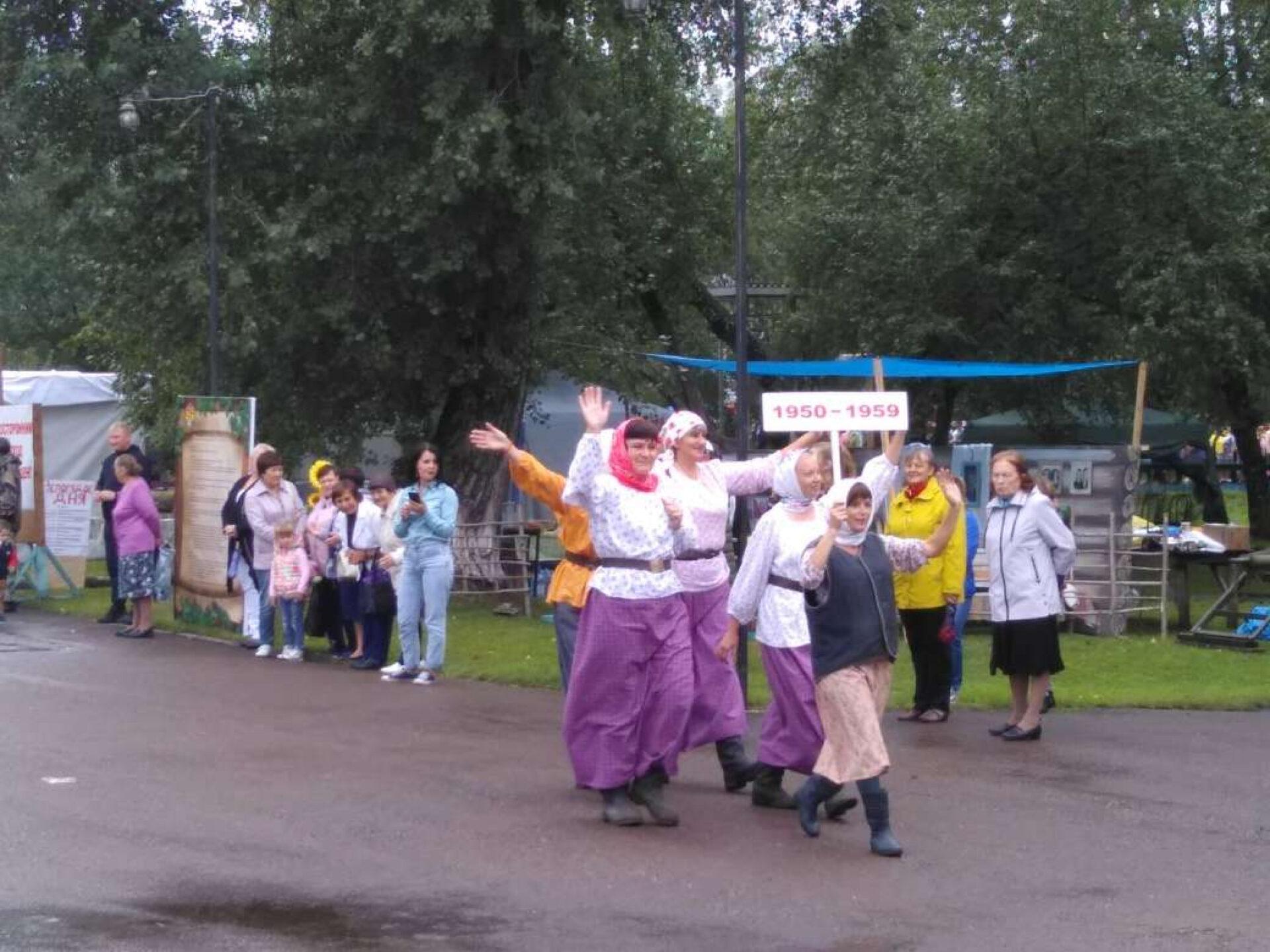 День рождения Идринского района Красноярского края. Парад